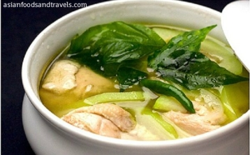 Asian Foods & Travels_Tinolang Manok