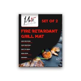 Non Stick Fire Retardant Grill Mat